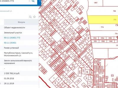 Продается земельный участок 32 га Молочненский с/с