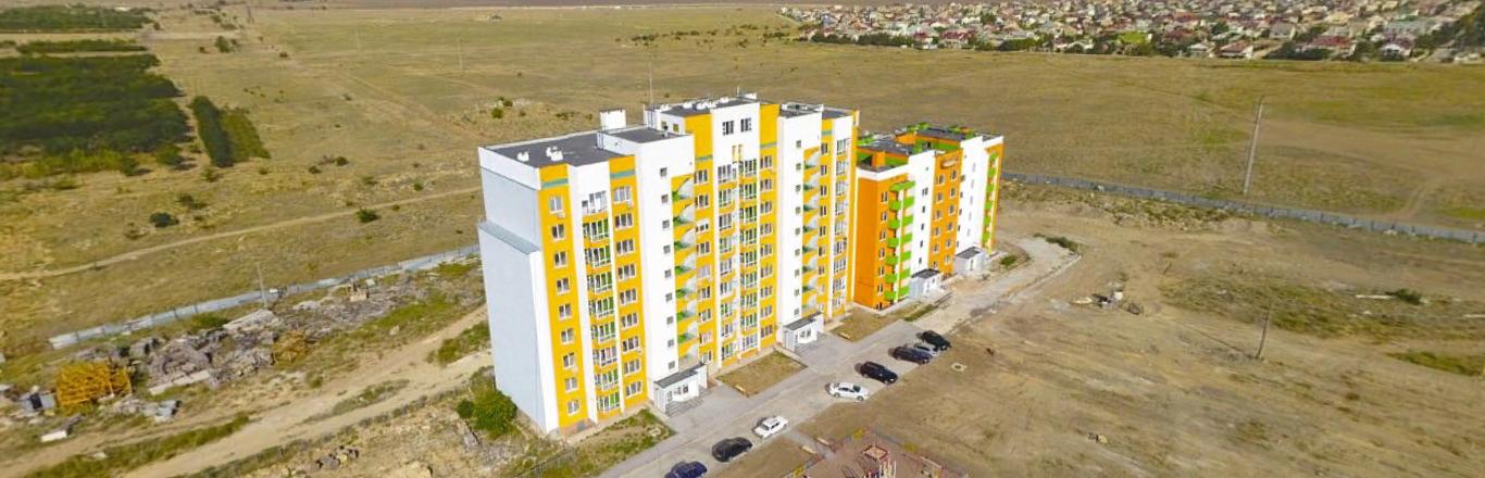 Продаётся 2 комнатная квартира, по пр-т Победы, в ЖК Консоль, г.Евпатория.
