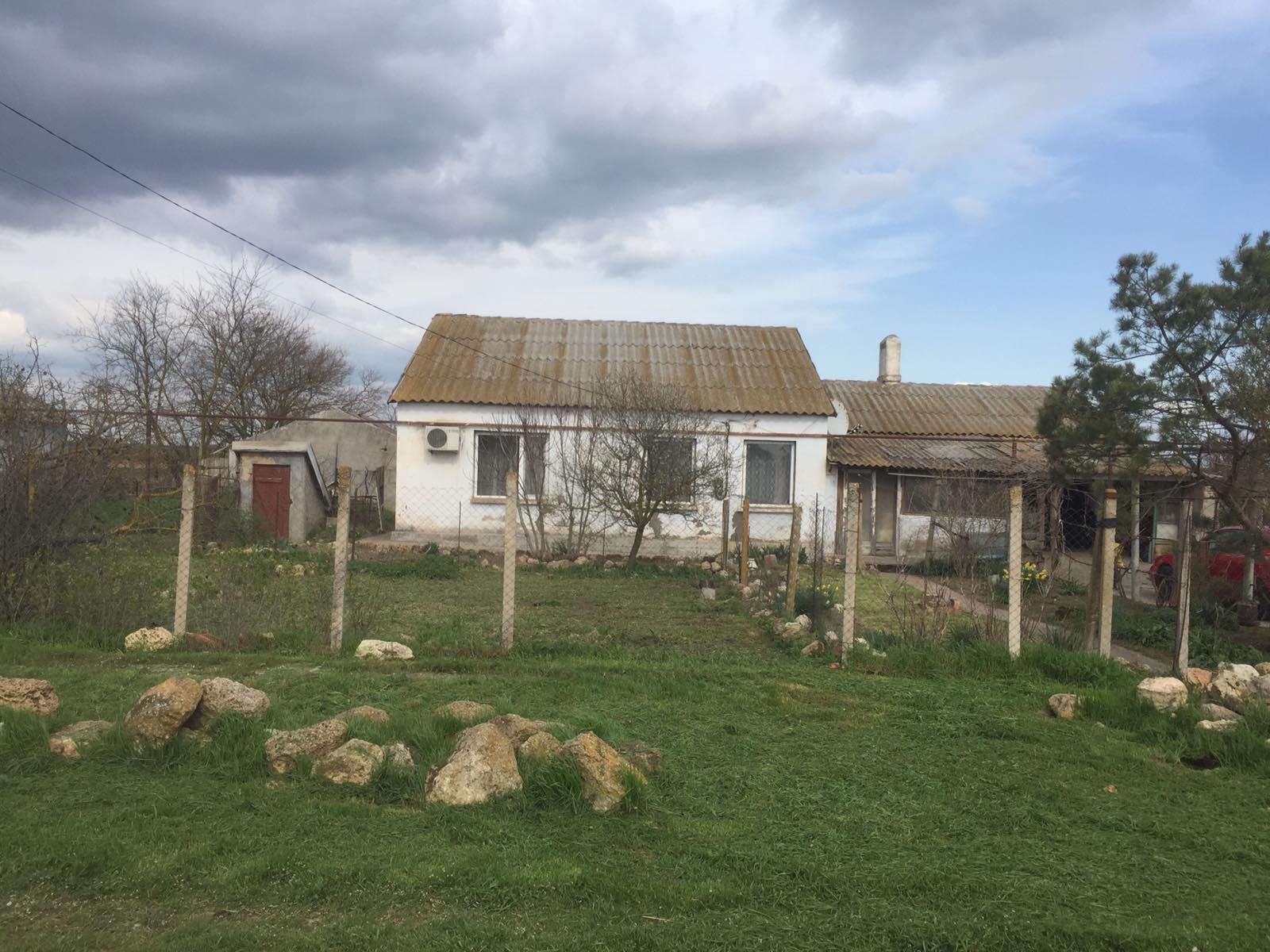 Продается Жилой Дом в Крыму в 18 км от Евпатории с.Добрушино Сакского район ...